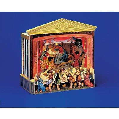 Puzzle  Schreiber-Bogen-684 Kartonmodelbau: Theater-Krippe
