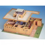 Puzzle  Schreiber-Bogen-689 Kartonmodelbau: Ägyptisches Wohnhaus