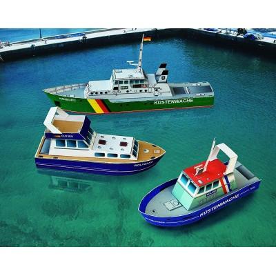 Schreiber-Bogen-699 Kartonmodelbau: Drei Kleine Schiffe