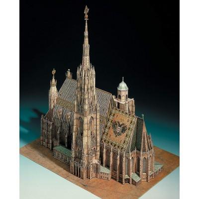 Puzzle  Schreiber-Bogen-701 Kartonmodelbau: Der Stephansdom in Wien