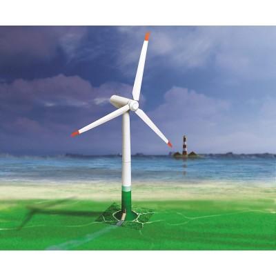 Puzzle  Schreiber-Bogen-709 Kartonmodelbau: Windkraftanlage