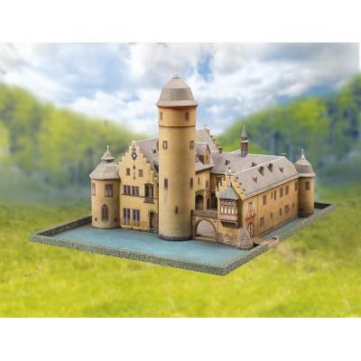 Puzzle  Schreiber-Bogen-710 Kartonmodelbau: Wasserschloss Mespelbrunn