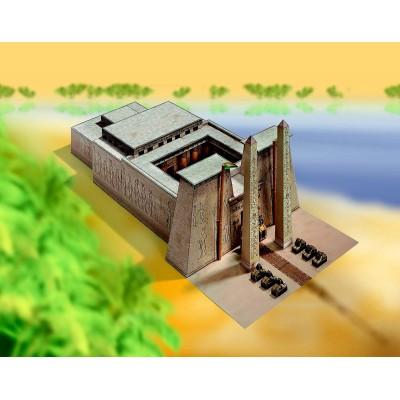 Puzzle  Schreiber-Bogen-711 Kartonmodelbau: Ägyptischer Tempel