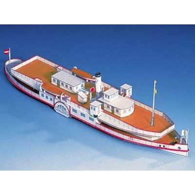 Puzzle  Schreiber-Bogen-71409 Kartonmodelbau: Donaupassagierschiff Franz Schubert