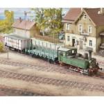 Puzzle  Schreiber-Bogen-715 Kartonmodelbau: Württembergische T3 Dampflok