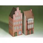 Schreiber-Bogen-71517 Kartonmodelbau: Zwei Häuser aus Lüneburg