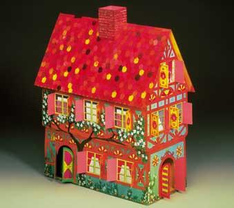Puzzle  Schreiber-Bogen-71806 Kartonmodelbau: Spielhaus
