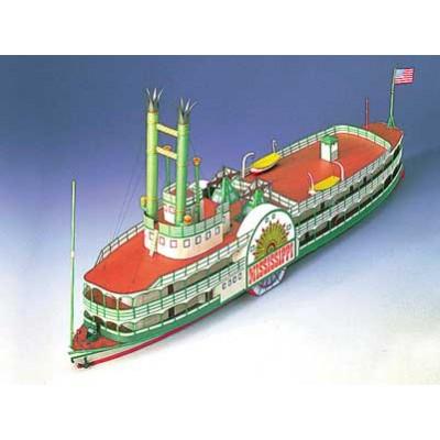 Puzzle Schreiber-Bogen-71827 Kartonmodelbau: Mississippi Steamboat