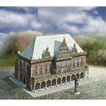 Puzzle  Schreiber-Bogen-720 Kartonmodelbau:  Altes Rathaus in Bremen