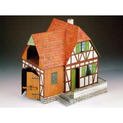 Puzzle  Schreiber-Bogen-72182 Kartonmodelbau: Bauernhof
