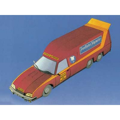 Puzzle Schreiber-Bogen-72216 Kartonmodelbau: FAZ-Citroën CX