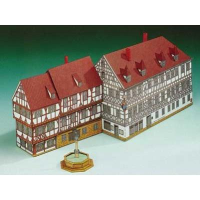 Puzzle  Schreiber-Bogen-72235 Kartonmodelbau: Frechshaus Forchheim