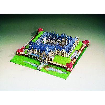 Puzzle  Schreiber-Bogen-72429 Kartonmodelbau: Grafenegg