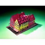 Puzzle  Schreiber-Bogen-72444 Kartonmodelbau: Hotel Eisenhut Christkindlmarkt Rothenburg