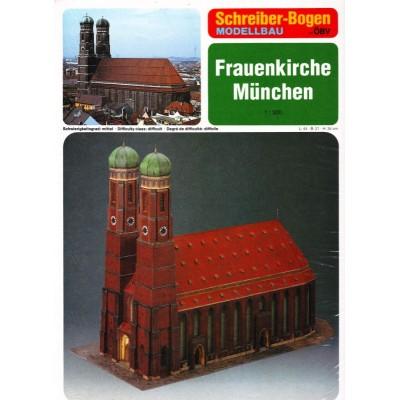 Puzzle  Schreiber-Bogen-72459 Kartonmodelbau: Frauenkirche München