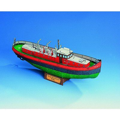 Puzzle Schreiber-Bogen-72497 Löschboot Kiel