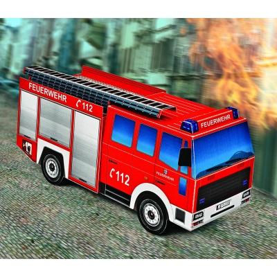 Puzzle  Schreiber-Bogen-725 Kartonmodelbau: Feuerwehrwagen