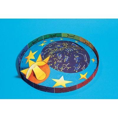 Puzzle  Schreiber-Bogen-72589 Sternkarte