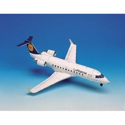 Puzzle  Schreiber-Bogen-72620 Canadair Jet