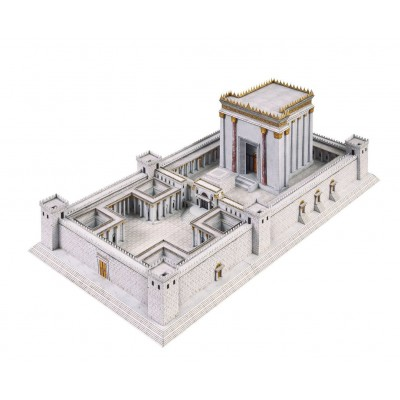 Puzzle  Schreiber-Bogen-731 Kartonmodelbau: Der Tempel in Jerusalem