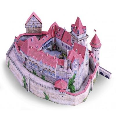 Puzzle  Schreiber-Bogen-736 Kartonmodelbau: Burg Kreuzenstein