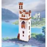 Puzzle  Schreiber-Bogen-745 Kartonmodelbau: Mäuseturm bei Bingen am Rhein
