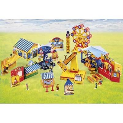 Puzzle  Schreiber-Bogen-772 Kartonmodelbau: Jahrmarkt