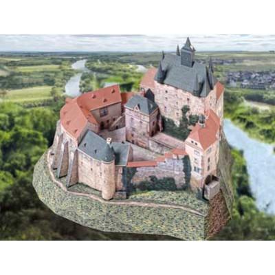 Puzzle  Schreiber-Bogen-778 Kartonmodelbau: Burg Kriebstein