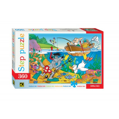Puzzle  Step-Puzzle-73008 Fishing