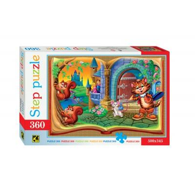 Puzzle Step-Puzzle-73025 Der gestiefelte Kater