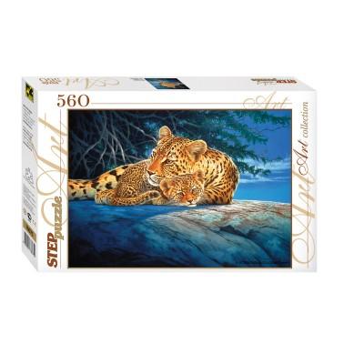 Puzzle  Step-Puzzle-78075 Leoparden