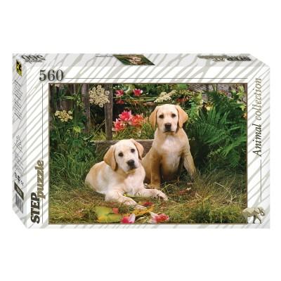 Puzzle Step-Puzzle-78076 Labrador Welpen