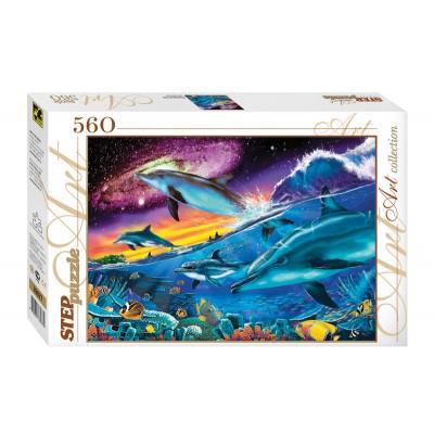 Puzzle Step-Puzzle-78077 Unterwasserwelt