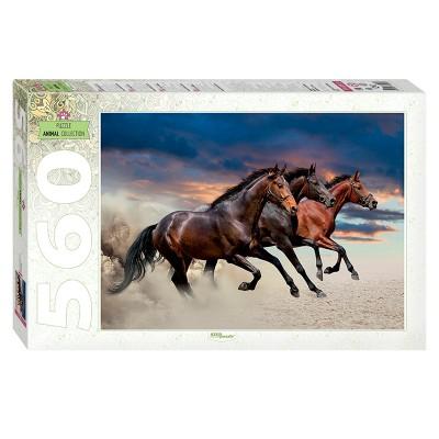Puzzle Step-Puzzle-78093 Pferde