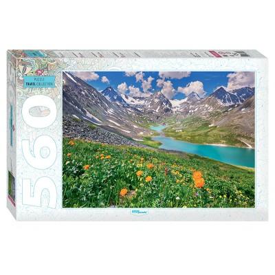 Puzzle  Step-Puzzle-78095 Altai-Berge