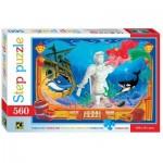 Puzzle  Step-Puzzle-78100 Die kleine Meerjungfrau
