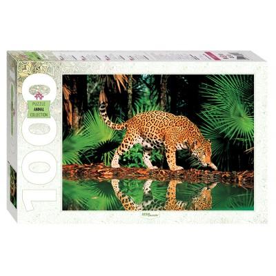 Puzzle  Step-Puzzle-79011 Leopard