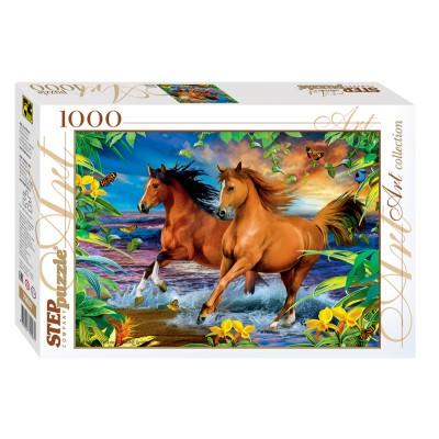 Puzzle  Step-Puzzle-79097 Pferde