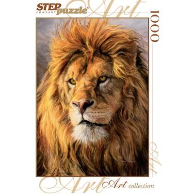 Puzzle  Step-Puzzle-79101 Löwe