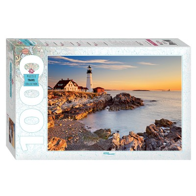 Puzzle Step-Puzzle-79119 Lighthouse in Portland