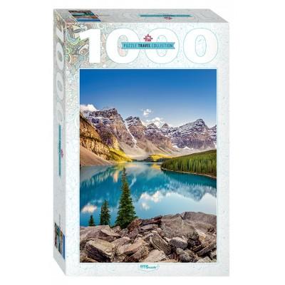 Puzzle Step-Puzzle-79120 Moraine Lake, Kanada