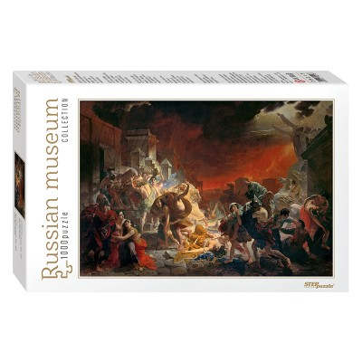 Puzzle  Step-Puzzle-79217 Russian Museum - Karl Bryullov. The Last Day of Pompei