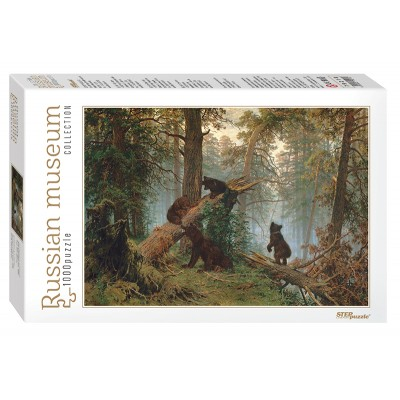 Puzzle Step-Puzzle-79218 Russian Museum - Ivan Shishkin. Morning in a Pine Forest