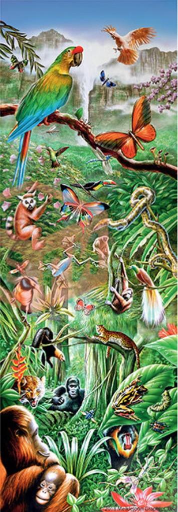 Puzzle Step-Puzzle-79407 Dschungel