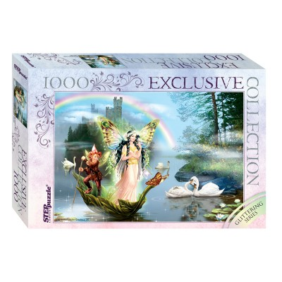 Puzzle  Step-Puzzle-79515 Glittering Series - Magic Lake