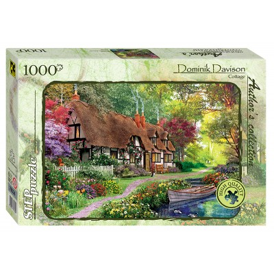 Puzzle  Step-Puzzle-79534 Dominic Davison - Cottage