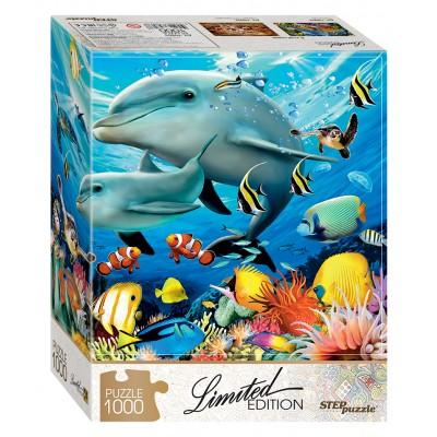 Puzzle  Step-Puzzle-79803 Unterwasserwelt