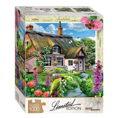 Puzzle Step-Puzzle-79805 Pink Cottage