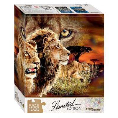 Puzzle  Step-Puzzle-79807 Finde 10 Löwen!