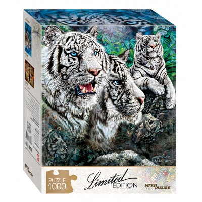 Puzzle  Step-Puzzle-79808 Finde 13 Tiger!